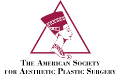 American Society For Aesthetic Plastic Surgery Badge