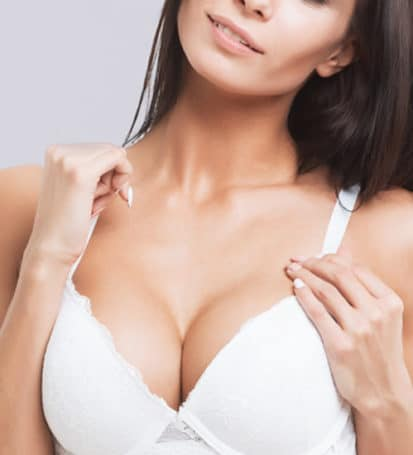 woman's chest